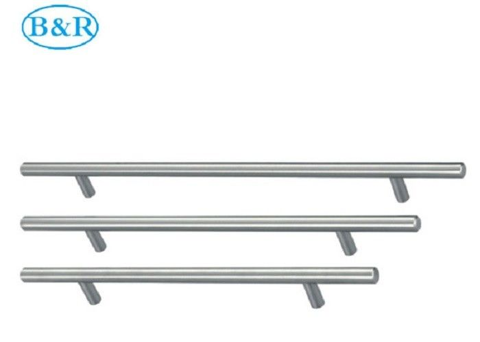 Kitchen Furniture Aluminum Alloy Handles HZ2001 Sand Chrome Surface