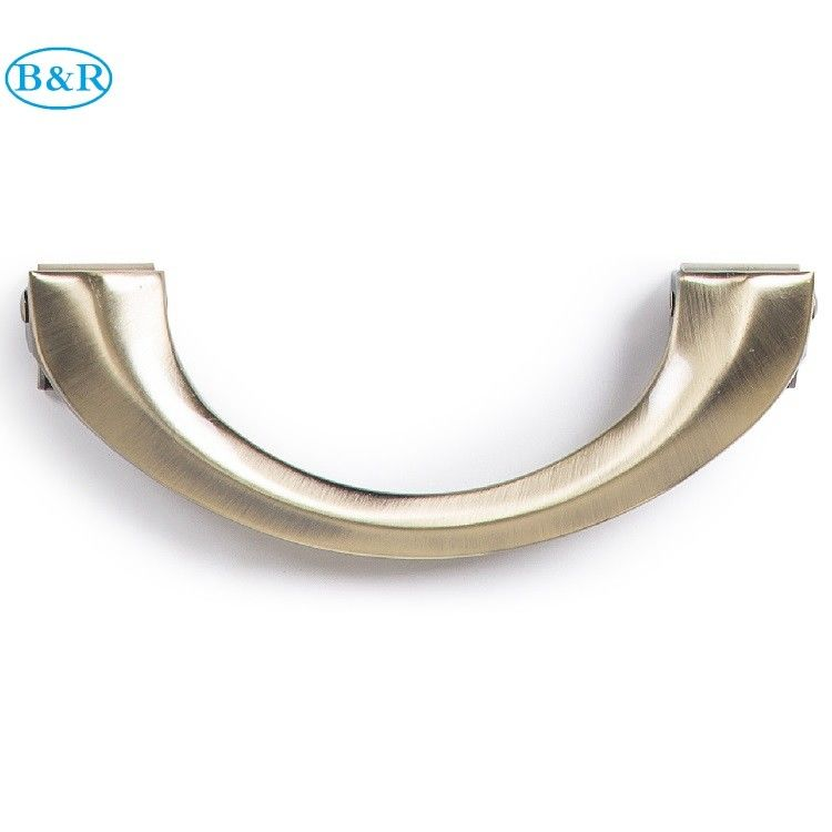 Steel Material Metal Coffin Handles HM002 Lift Weight 150kg Antique Bronze Color