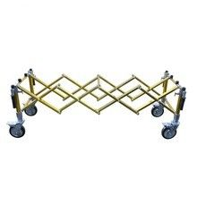 XH-5 Aluminum Alloy Coffin Trolley Funeral Equipment 450 Kg Lift Weight