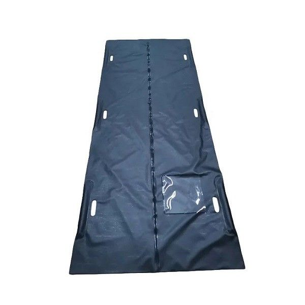 MD10 Pvc material body bag for with 6 handles for dead bodies